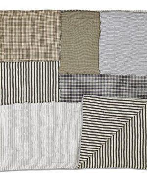 VHC Brands Farmhouse Bedding Ashmont Quilt Queen Warm Grey 0 2 300x360