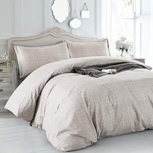 Villa Feel Duvet Cover Queen Egyptian Cotton Bedding Duvet Cover Set 3 Piece Ultra Soft And Easy Care Simple Vintage Style Percale Weave Farmhouse Bedding Soft And DurableQueen Grey 0 0