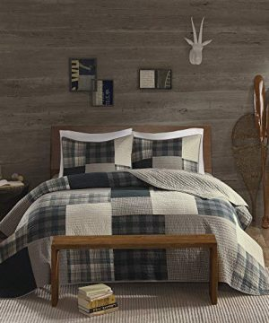 Woolrich Quilt Mini Set Cal King King King Winter Hills Tan 0 0 300x360