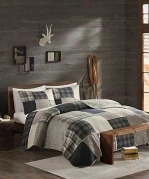 Woolrich Quilt Mini Set Cal King King King Winter Hills Tan 0 300x360