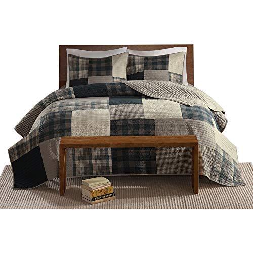 Woolrich Quilt Mini Set Cal King King King Winter Hills Tan 0 5