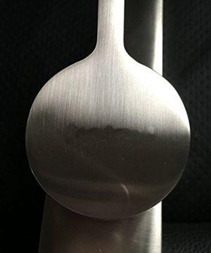YAJO Modern Single Handle Bathroom Vessel Sink Faucet Brushed Nickel Finish 0 4 300x360