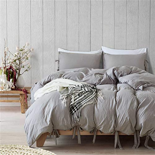 Iasteria Super Soft Duvet Cover Set Lightweight Microfiber Luxury Farmhouse Bedding Set Modern Pattern Design 3 Farmhouse Goals