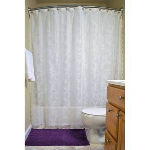 Andrade+Floral+Single+Shower+Curtain