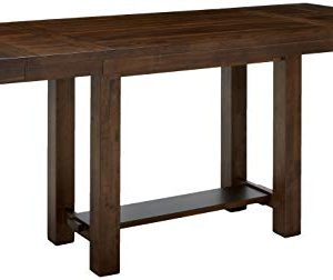 Ashley Furniture Signature Design Moriville Counter Height Dining Room Table Grayish Brown 0 300x252