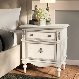 Avila 2 Drawer Nightstand