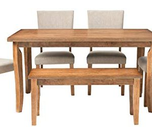 Best Master Furniture Rectangular 6 Pcs Dining Set 0 300x251