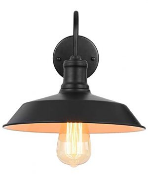 Black Gooseneck Plug In Wall Light Fixture With 59 Ft Cord And Dimmable Switch Wall Lamp Industrial Vintage Farmhouse Wall Sconce Lighting For Bedroom Nightstand Lighting Set Of 2 Pack 0 2 300x360