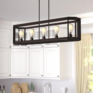 Bouvet+5-Light+Kitchen+Island+Linear+Pendant