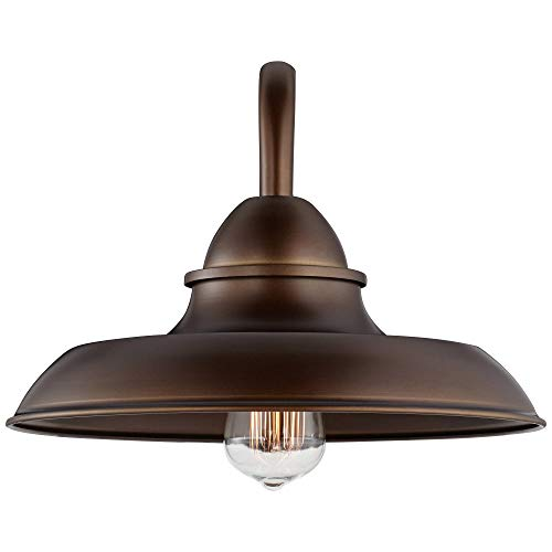 Bowdon Bronze 10H Indoor Plug In Sconce With Edison Bulb Franklin Iron Works 0 4