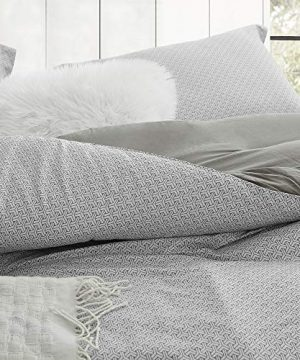 Byourbed Flyin Home Farmhouse Gray Twin XL Comforter 100 Cotton 0 300x360