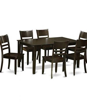 CALY7 CAP W 7 Pc Dining Room Set For 6 Dining Table And 6 Chairs 0 300x360