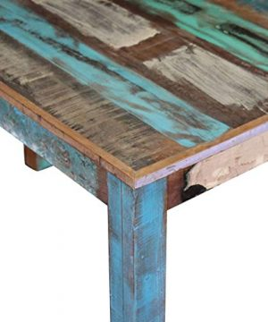Canditree Antique Rectangular Dining Table Solid Reclaimed Wood 453x236x30 For Dining Room Kitchen 0 5 300x360