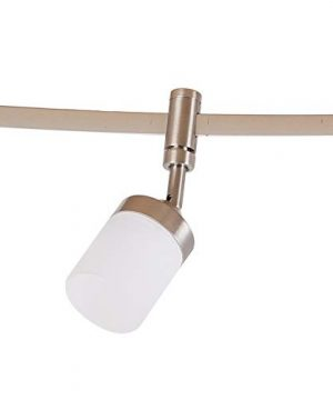 Catalina Lighting 21904 000 Transitional 6 Integrated LED Flex Track Ceiling Light Bulbs Included 96 Brushed Nickel 0 2 300x360