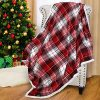 Catalonia Red Buffalo Plaid Sherpa Throw BlanketReversible Super Soft Warm Comfy Fuzzy Snuggle Micro Fleece Plush Throws For Bed Couch Sofa TV60x50 Inches 0 100x100