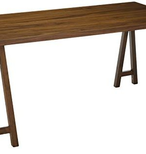 Christopher Knight Home Sabrina Farmhouse Wood Finish Dining Table Natural Walnut 0 300x315