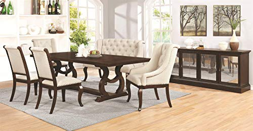 Coaster Glen Cove Dining Table Antique Java 0 2
