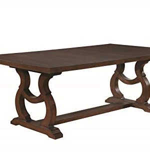 Coaster Glen Cove Dining Table Antique Java 0 300x306
