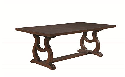 Coaster Glen Cove Dining Table Antique Java 0