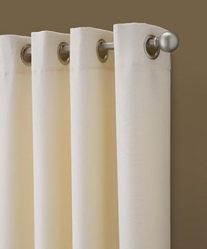 Curtainworks Kendall Color Block Grommet Curtain Panel 95 Inch Ivory 0 0 300x360