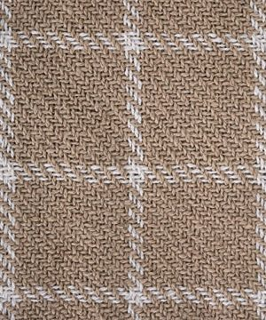 DII 100 Cotton Checked Throw For IndoorOutdoor Use Camping Bbqs Beaches Everyday Blanket 50 X 60 Stone 0 0 300x360
