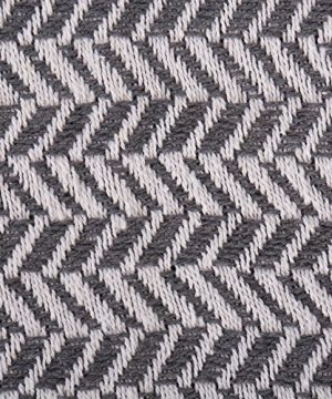 DII Modern Farmhouse Cotton Herringbone Blanket Throw With Fringe For Chair Couch Picnic Camping Beach Everyday Use 50 X 60 Herringbone Chevron Mineral Gray 0 0 300x360