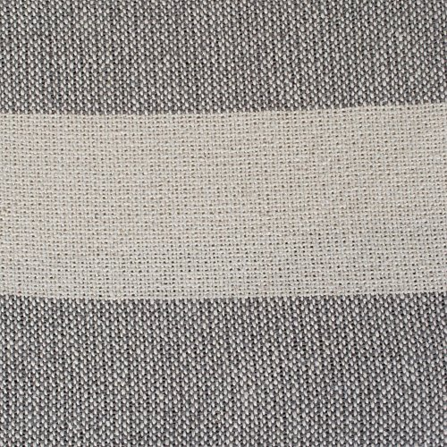 DII Rustic Farmhouse Cotton Cabana Striped Blanket Throw With Fringe For Chair Couch Picnic Camping Beach Everyday Use 50 X 60 Cabana Striped Gray 0 0