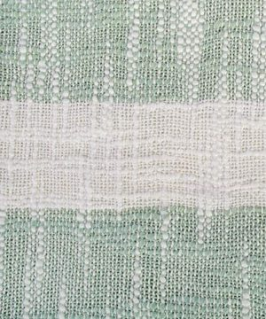 DII Rustic Farmhouse Cotton Stripe Blanket Throw With Fringe For Chair Couch Picnic Camping Beach Everyday Use 50 X 60 Distressed Mint 0 0 300x360