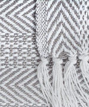 DII Woven Throw Herringbone Stripe Gray 0 1 300x360