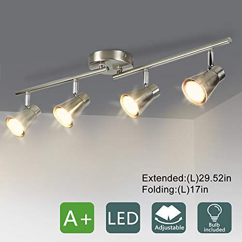 Dllt 4 Light Led Track Lighting Kit