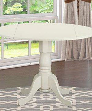 DLT WHI TP Round Table With 29 Drop Leaves 0 300x360