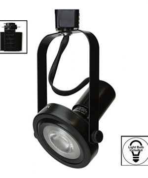 Dash N Direct DD Brand H System 3 Lights PAR30 LED Track Lighting Kit Gimbal Ring Rear Loading Black 3K Warm White HTC 9005 330K BK Bulbs Included 0 2 300x360