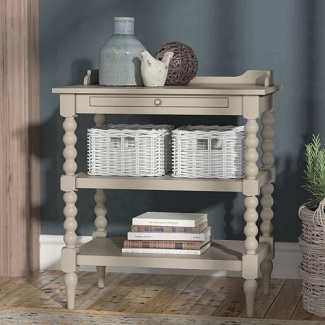 Dove Gray Nightstand