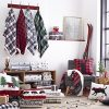 Eddie Bauer Edgewood Plaid Flannel Sherpa Throw Blanket 50 X 60 Red 0 1 100x100