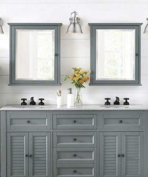 Emliviar Modern Industrial Bathroom Vanity Wall Sconce Light Brushed Nickel Finish With Metal Shade 4053S 0 4 300x360