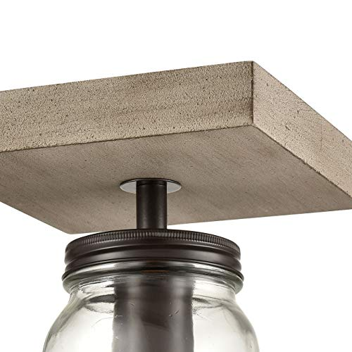 Mason Jar Flush Mount Ceiling Lights
