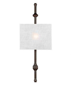 Feiss WB1860ANBZ Teva Wall Sconce Lighting Bronze 1 Light 12W X 30H 60watts 0 0 300x360