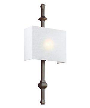 Feiss WB1860ANBZ Teva Wall Sconce Lighting Bronze 1 Light 12W X 30H 60watts 0 300x360