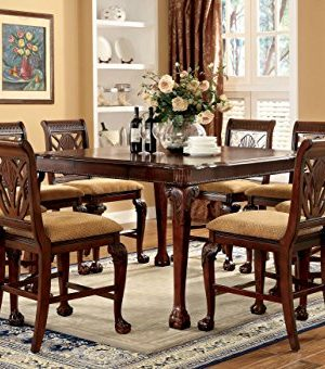 Furniture Of America Bonaventure 9 Piece Traditional Style Pub Dining Set 0 0 300x340