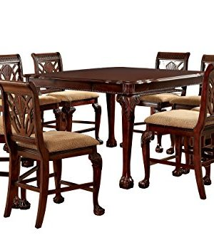 Furniture Of America Bonaventure 9 Piece Traditional Style Pub Dining Set 0 300x337