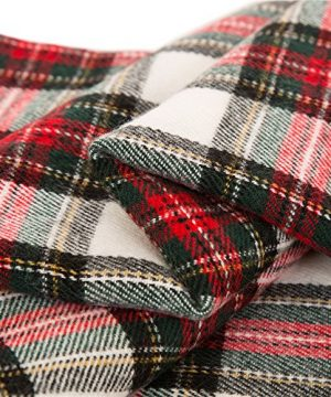 Glitzhome Throw Blanket For Couch Soft Cozy Throw Blanket For Bed Tartan Shawl With Tassels Plaid Throw Blanket For Sofa Reversible Wrap Scarf For Women Men 60 X 50 Inches 0 4 300x360