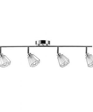 Globe Electric 59373 Sansa 4 Track Lighting Chrome 78 Silver 0 300x360