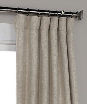 HPD HALF PRICE DRAPES BOCH LN1857 96 Faux Linen Blackout Room Darkening Curtains 50 X 96 Oatmeal 0 0 300x360