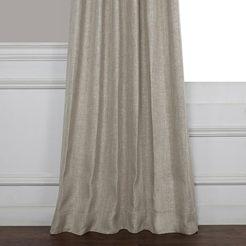 HPD HALF PRICE DRAPES BOCH LN1857 96 Faux Linen Blackout Room Darkening Curtains 50 X 96 Oatmeal 0 3
