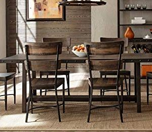 Hillsdale Furniture 7 Pc Dining Set In Distressed Walnut 0 300x261