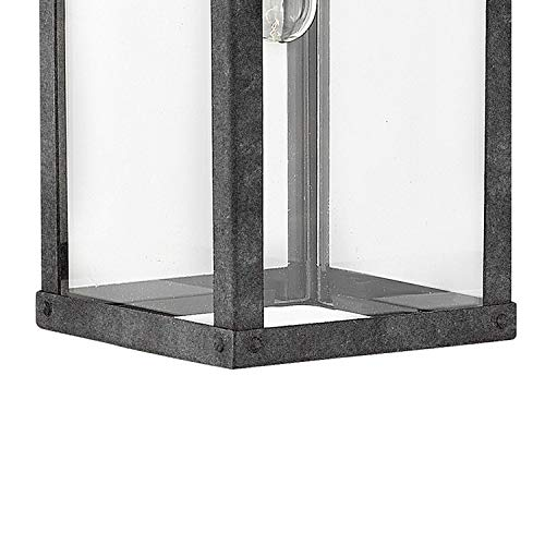 Hinkley 2800OZ Porter Outdoor Wall Sconce 1 Light 100 Watts Oil Rubbed Bronze 0 0