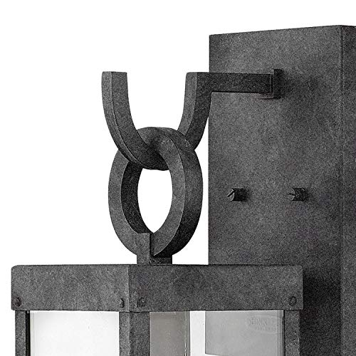 Hinkley 2800OZ Porter Outdoor Wall Sconce 1 Light 100 Watts Oil Rubbed Bronze 0 1