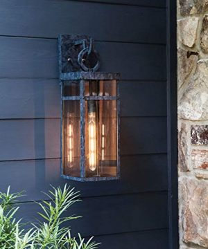 Hinkley 2805OZ Porter Outdoor Wall Sconce 1 Light 100 Watts Oil Rubbed Bronze 0 2 300x360