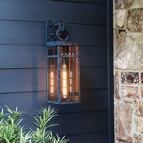 Hinkley 2805OZ Porter Outdoor Wall Sconce 1 Light 100 Watts Oil Rubbed Bronze 0 2