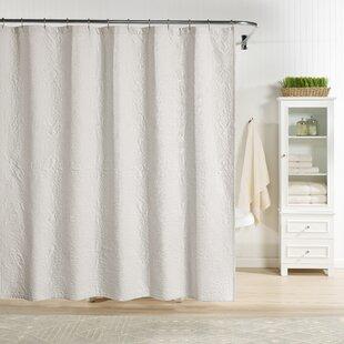 Hoffman+100+Cotton+Floral+Single+Shower+Curtain